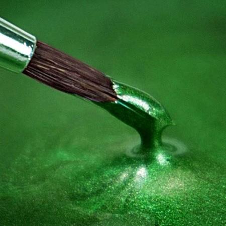 Verde Agrifoglio Metallizzato. Colorante in gel. Rainbow Dust