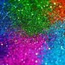 1 mm. Glitter 100% Alimentari perlescenti in molti colori