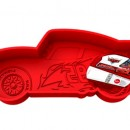 Stampo tortiera in silicone Cars Disney 3D.