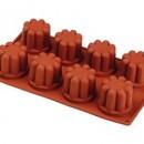 8 Bavaresi. Stampo Antiaderente in silicone Platinico di alta qualità.