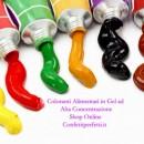 Gel Alta Concentrazione.20 gr.Nuovissimi Coloranti Senza Glutine. Cake & Cake