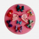 8 forme di Fiocco e Papillon. Stampo in Silicone