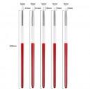 5 Pennelli di 4 e 5 mm in Silicone