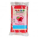 Aromatizzata al Lampone. Pasta di zucchero FunCakes. 250 gr. Raspberry. Senza Glutine