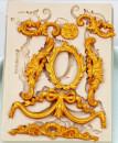 Barocco.8 Fantastiche decorazioni. Stampo in silicone