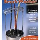 Brush Washer per pulire e asciugare i tuoi Pennelli.