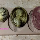 Camei e Diademi.Stampo in silicone con 3 fantastiche forme