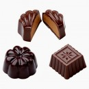 Cioccolatini Classici. Stampo in policarbonato flessibile. PME Classic Chocolate Candy Mould.