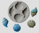 Conchiglie di Mare. Stampo silicone