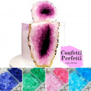 Cristalli Geodi di zucchero in molti fantastici colori