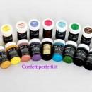 Linea Pastello. Coloranti in Gel altamente concentrati.Sugarflair