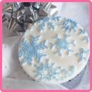 Fiocchi di Neve. Frozen. Katy Sue. Stampo in silicone ottimo regalo