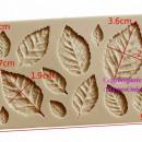 Foglie di Rosa. Stampo in silicone per il cake design