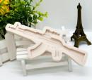Fucile Automatico AK-47. Stampo in silicone