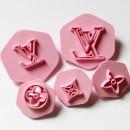 L.V. Griffe. Set di 5 Stampi