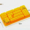 Stampi silicone Lego per decorazione