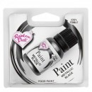 NERO Gel Metallizzato. Nuova Vernice Perlescente. Rainbow Dust Food Paints.25 ml.