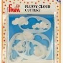 Nuvole  Set di 5 stampi.