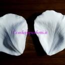 Petalo Rosa 7,5 cm Grande. 2 Venatori in silicone