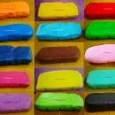 1 Kg. Rosso. Pasta di zucchero Confetti Perfetti. Gluten Free per il cake design