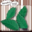 Foglie di Agrifoglio. 2 Venatori in silicone