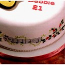 Chiave di Violino e Pentagramma. Stampo Musica Stave & Clef