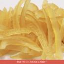 Filetti Limone Canditi. 100 grammi.