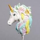 Unicorno. Fantastico Stampo in Silicone di alta definizione. Originale Katy Sue.