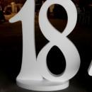 Numeri Grandi in Polistirolo. Altezza 30 cm