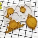 Eleganti Orologi Antichi e da Taschino. Grande e Spettacolare Stampo in silicone