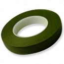 Verde Scuro.12 mm. Nastro o Guttaperga per Fiori