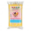 Aromatizzata al Mango. Pasta di zucchero FunCakes. 250 gr. Senza Glutine
