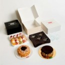 Altezza 10 cm. 33 x 33 Rigida. Trasporta Torta Dolci Alimentare - Reviva di Luca Montersino