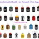 Arancio 60 ml. Colorante alimentare liquido per la Verniciatura e per Aerografo. Sugarflair