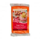 Arancione Tiger.Pasta di zucchero FunCakes. 250 gr. Senza Glutine e Kosher