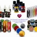 Argento Metallizzato. Pennello per Dipingere per decorazioni di superficie. Alimentare Rainbow Dust precaricato. Click-Twist Brush®