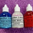 Bianco 60 ml. Colorante alimentare liquido per la Verniciatura e per Aerografo. Sugarflair