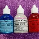 Blu Fluo 60 ml. Colorante alimentare liquido per la Verniciatura e per Aerografo. Sugarflair