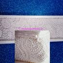 Bordo Perle Gigante 37 x 12 cm in silicone. Originale Karen Davies