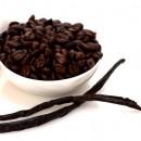 Caffè aromatizzato Vaniglia. Disponibile in Grani e Macinato.