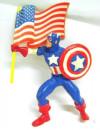 Capitan America con Bandiera. Marvel Avengers. Statuina in Pvc