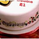 Chiave di Violino e Pentagramma. Stampo Tagliapasta Patchwork Cutter Musica Stave & Clef