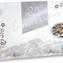 Confetti Prisco Anniversari Oro e Argento. Confezione da 1 Kg.