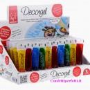 Decorgel. Nuovi coloranti in Gelatina alimentare Modecor. Senza glutine.