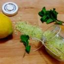 Fior di sale italiano Limone e Menta. 50 grammi.