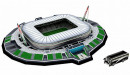 Juventus Allianz Stadium. Puzzle 3D
