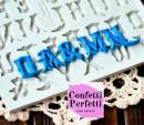 Lettere Alfabeto Gotico. Stampo in silicone