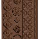 Macramè. Stampo in silicone con 8 motivi decorativi in stile più 2 bordure.