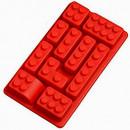 Stampi silicone Lego per il cake design