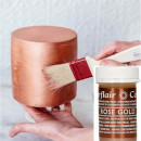 Oro Rosa. Linea Pastello. Colorante in Gel concentrato. Rose Gold. Sugarflair